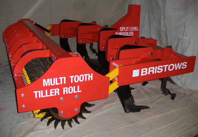 The NEW BRISTOWS Split Level Subsoiler